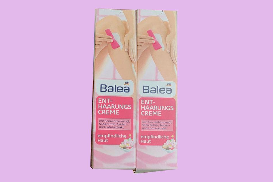 Kem tẩy lông vùng kín Balea
