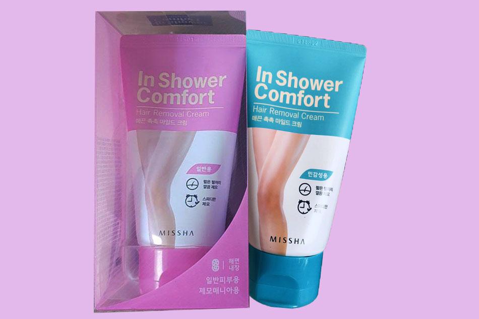 Thuốc triệt lông vùng kín Missha In Shower Comfort Hair