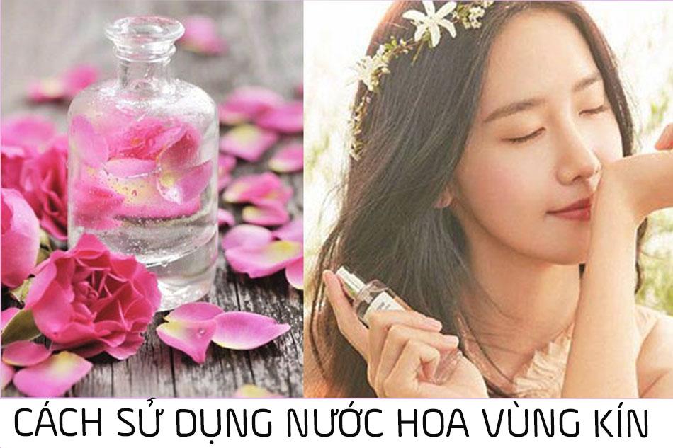 Cách sử dụng nước hoa vùng kín