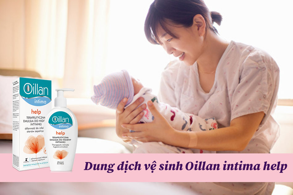 Dung dịch vệ sinh Oillan intima help