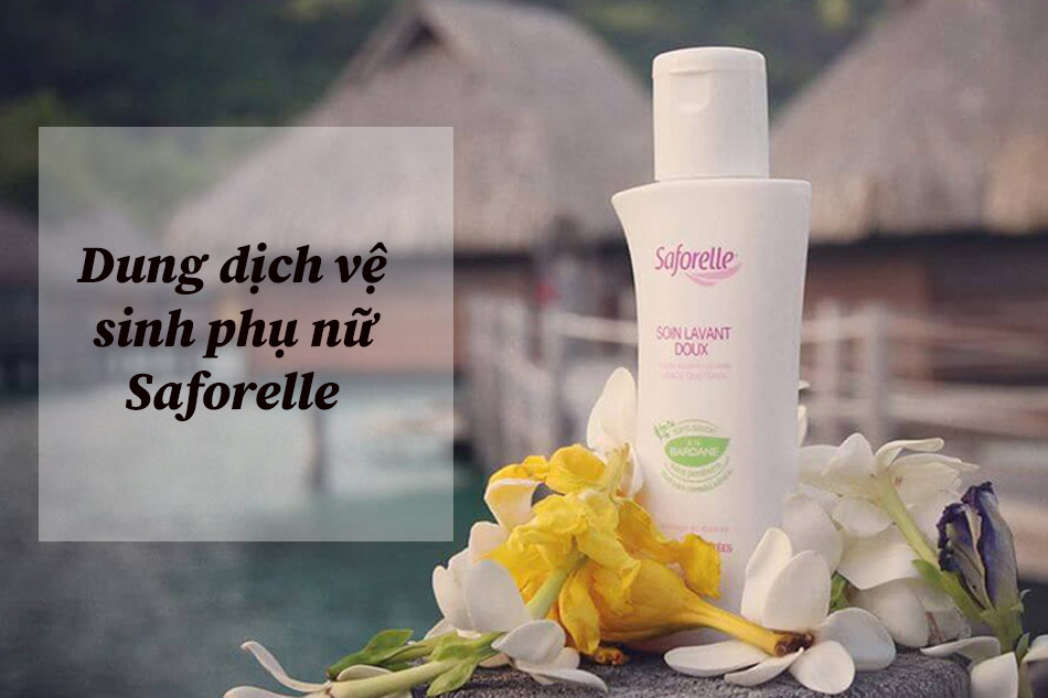 Dung dịch vệ sinh phụ nữ Saforelle