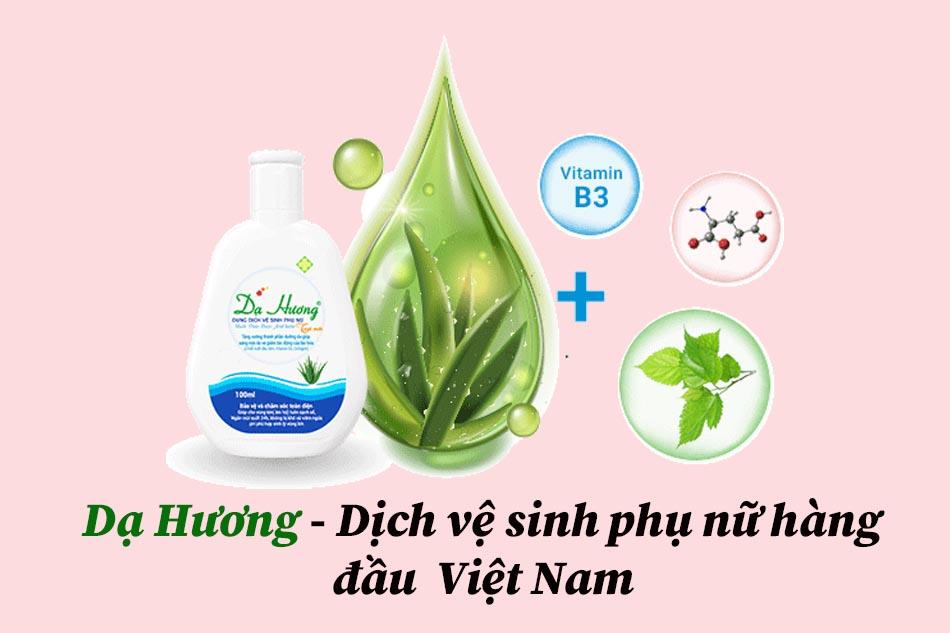 Dịch vệ sinh phụ nữ hàng đầu Việt Nam- Dạ Hương