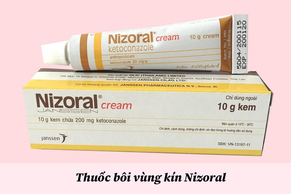 Thuốc bôi vùng kín Nizoral