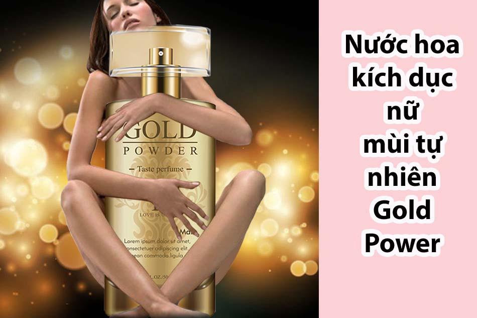 Nước hoa kích dục nữ mùi tự nhiên Gold Power
