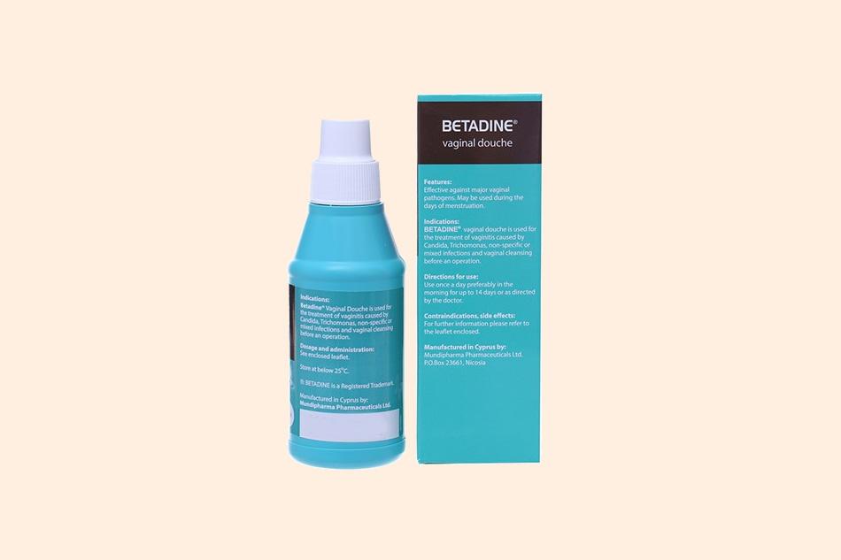 Công dụng của dung dịch vệ sinh Betadine màu xanh