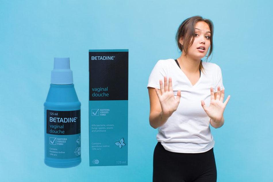 Chống chỉ định của Betadine phụ khoa